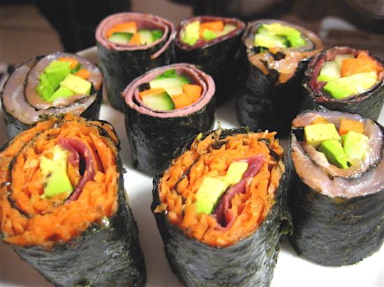 porkkanasushi